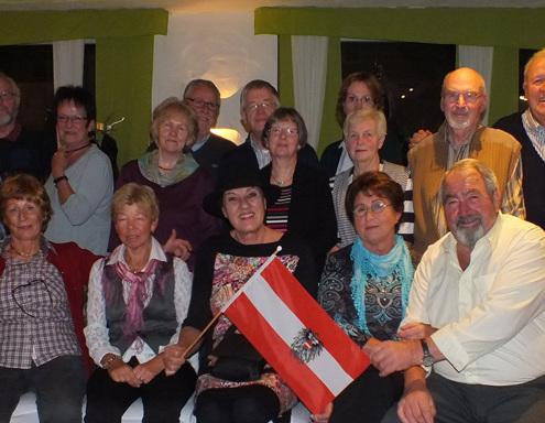 Gruppenfoto Österreicher in Hamm